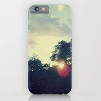 alley at sunset  iPhone 6 Slim Case