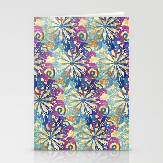 Pattern fantasy Stationery Card