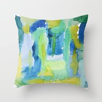 Lessons Throw Pillow