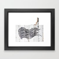 Featherwood Framed Art Print