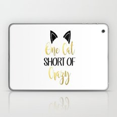 Cat Crazy Laptop & iPad Skin