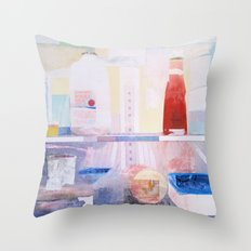 Starving Artist (J.P) Throw Pillow