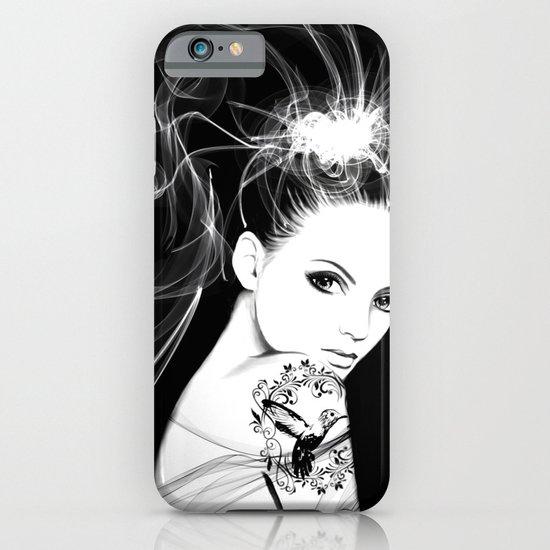 Smoke Girl iPhone & iPod Case