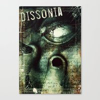 Dissonia Canvas Print