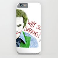 iPhone & iPod Case featuring Why so serious? by DsgnrTyler