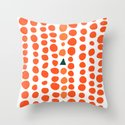 Mount Meru Throw Pillow