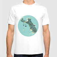 Seadusa Mens Fitted Tee White SMALL