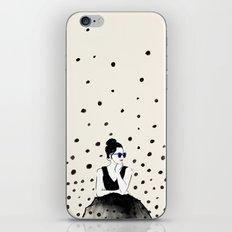 Polka Rain III iPhone & iPod Skin