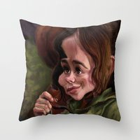 Ellen Paige Throw Pillow