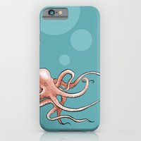 iPhone & iPod Case featuring Octopus by Charly Lane