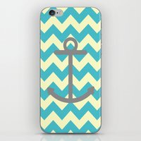 Chevron Anchor iPhone & iPod Skin