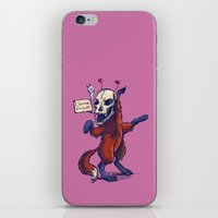 Debutante Fox iPhone & iPod Skin