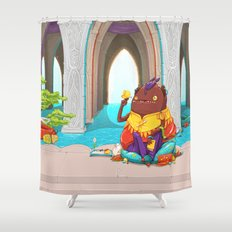 Enlightenment Shower Curtain