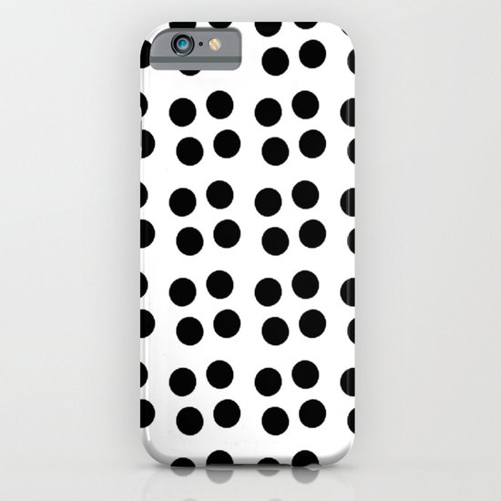 Copijn Black & White Dots iPhone & iPod Case