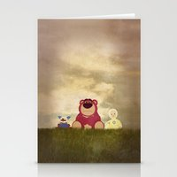 The Tragedy of Lotso Stationery Cards