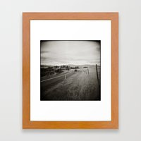 {  on the road } Framed Art Print