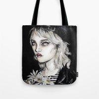 Sky Ferreira No………… Tote Bag