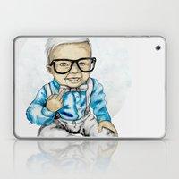 Naughty Boy by carographic Laptop & iPad Skin
