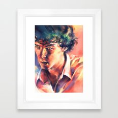 A Study in Coral Framed Art Print