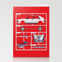 Lancia Delta History Model Kit in the WRC Stationery Cards
