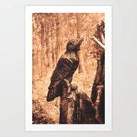 Raven (Slavanic Paganism… Art Print