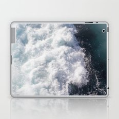 sea - midnight blue wave Laptop & iPad Skin