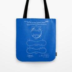 Baseball Patent - Blueprint Tote Bag