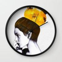 The Bee Hive  Wall Clock