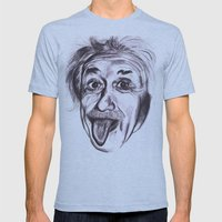 Einstein Mens Fitted Tee Athletic Blue SMALL