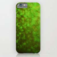 iPhone & iPod Case featuring Big Green Bokeh by VAWPhotography