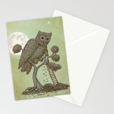The Night Gardener (Colour Option) Stationery Cards