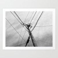 Utility Art Print