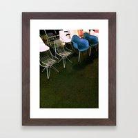 Eames Chairs Framed Art Print