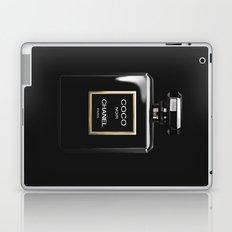 Perfume Noir Black Laptop & iPad Skin