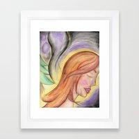 Translucent Life Framed Art Print