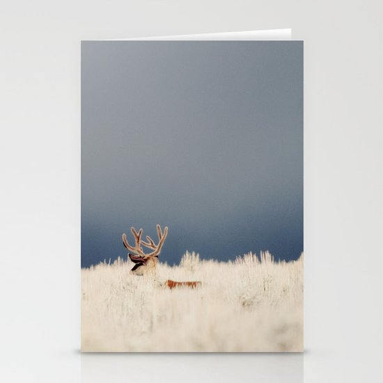 AGAINST THE FOG Stationery Card