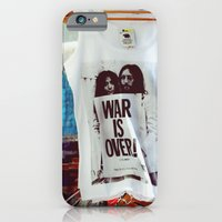 iPhone & iPod Case featuring War Is Over by @lauritadas