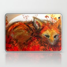 Fox in Sunset III Laptop & iPad Skin