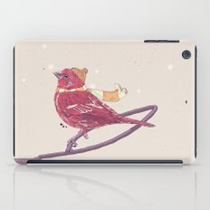 Winter Finch iPad Case