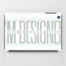 I'm Designer iPad Case
