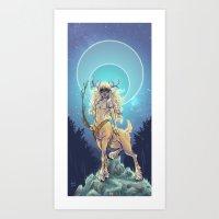 Golden Hind Art Print