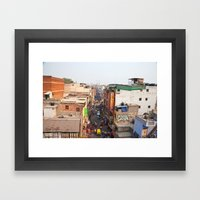 India New Delhi Paharganj 5519 Framed Art Print