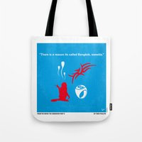 No145 My HANGOVER PART 2 minimal movie poster Tote Bag