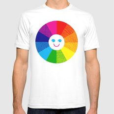 Show Your True Colors Mens Fitted Tee SMALL White