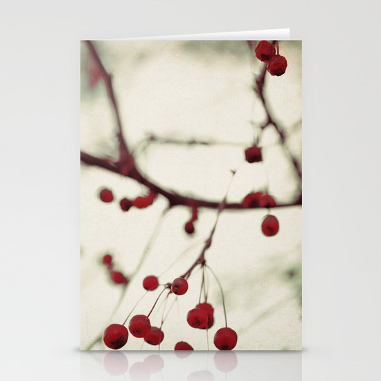 dark berries Stationery Card