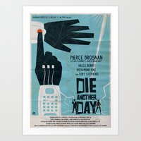 DIE ANOTHER DAY Art Print