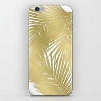 Palms Gold iPhone & iPod Skin