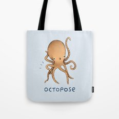 Octopose Tote Bag