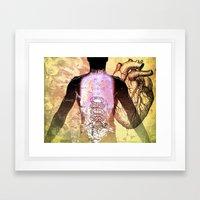 Daniel's Chest Framed Art Print