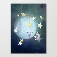 Hanging With The Stars Canvas Print